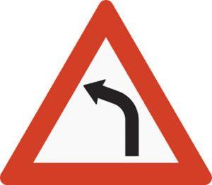 Farlig sving til venstre