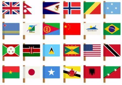 10 enkle flagg