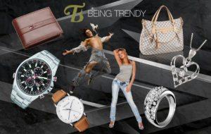 Being Trendy Reklamelogo